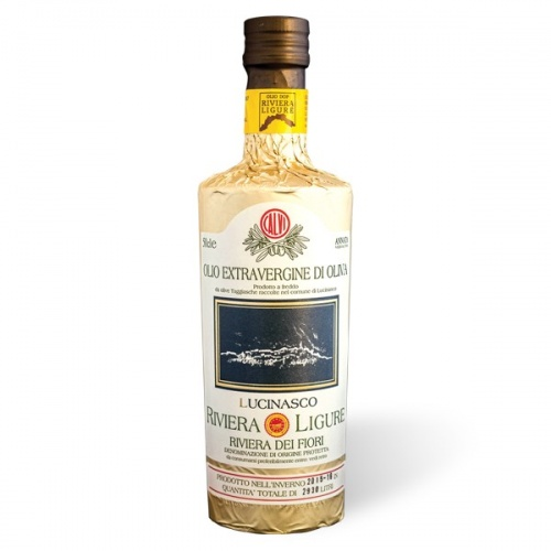 Oliwa extra virgin z oliwek z Ligurii Lucinasco DOP  (750ml)